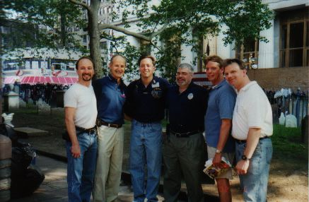 CT Chiro's - Pictured here L to R - Dr. Rennie Statler, Dr. Frank X. Tortora, Dr. Russell Caram, unkn, unkn, Dr. Chris Rickard